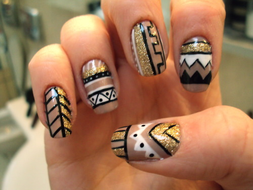 THESE NAILS. OH MY GOD. YES.