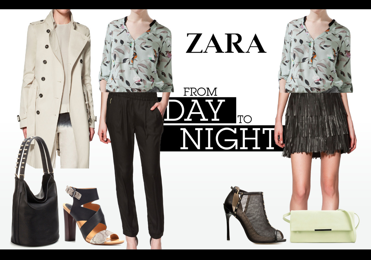 From day to night with ZARA.