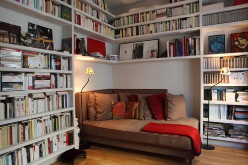 the-absolute-best-posts:  myidealhome: books all around (via desire to inspire) Follow this blog, you will love it on your dashboard