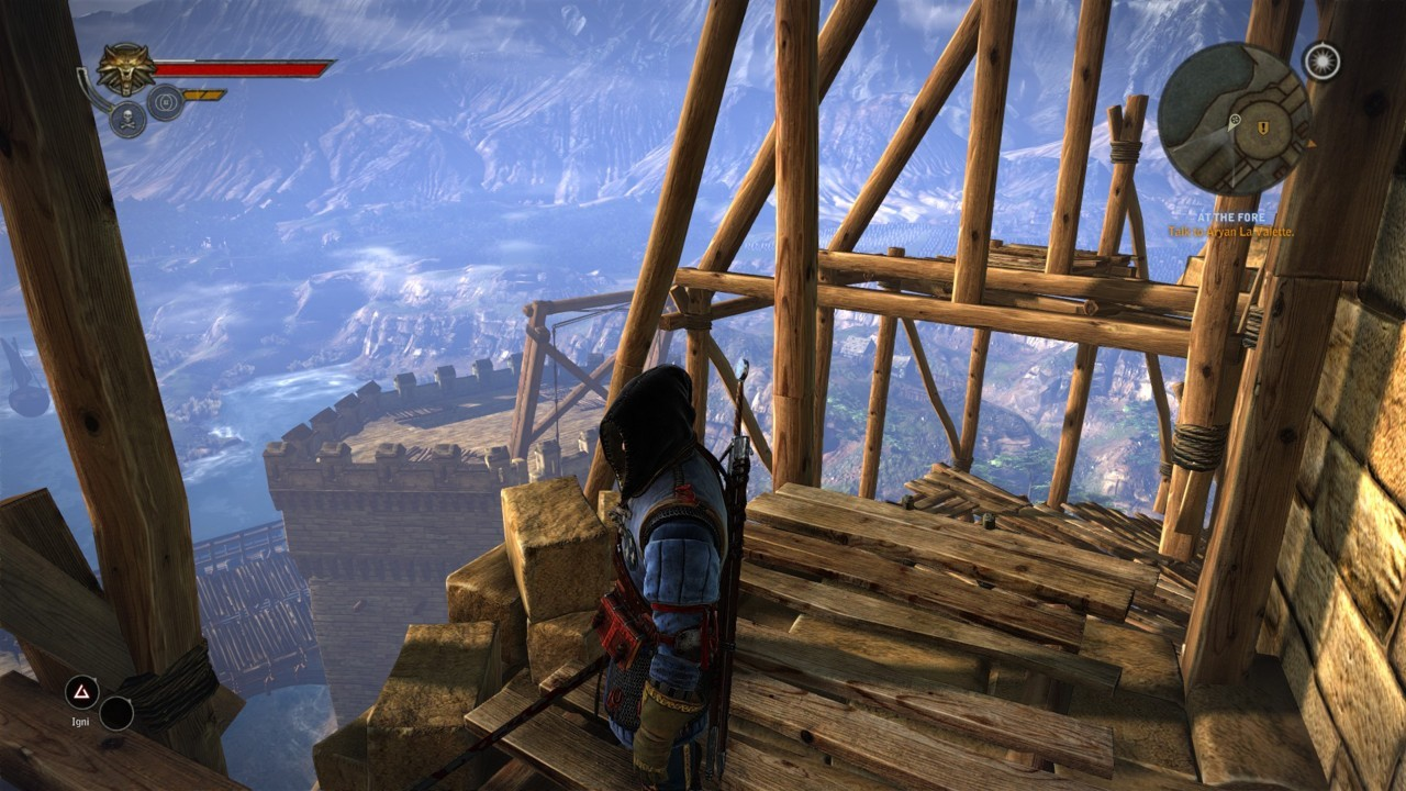 Sweet views from the prologue of The Witcher 2 enhanced edition.