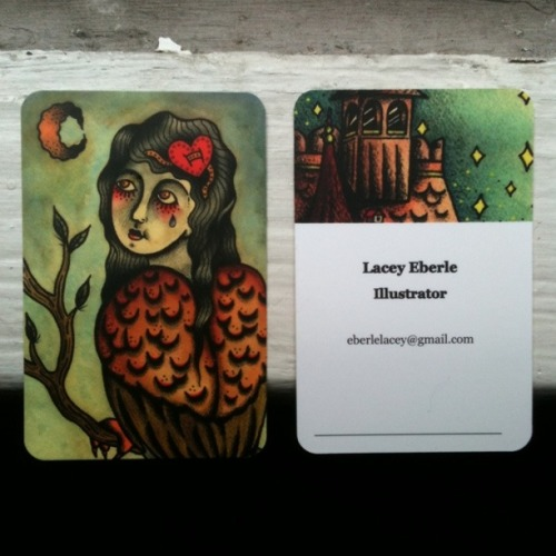 New business cards printed by moo.com!