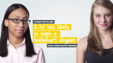 Did you know that 9 out of 10 Latino teens believe that a college degree is important for success, but only 5 out of 10 think it's possible. Considering population shifts and graduation rates remaining constant, by 2042 the country's overall graduation rate will decline by 22%. A less educated future will mean: more low-paying jobs, a lower national GDP, and more national debt. We can not allow this to happen. I am proud to say that New Futuro was formed to solve these issues. Offering bilingual, financial aid, scholarship, career, and networking resources to parents and students; helping Latino families achieve their dreams; New Futuro plans to change the face of Hispanic education. But New Futuro can't do it alone.  We need you. Find out more at NewFuturo.com. (via Minorities Are Becoming The Majority In The U.S. « Maya Talk)