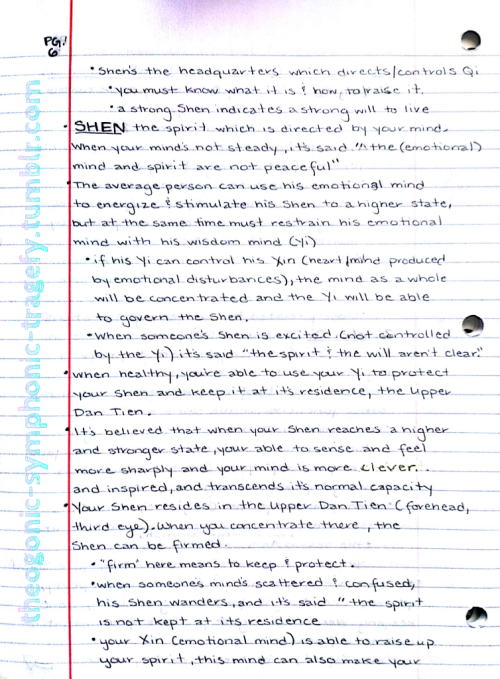 Qigong notes - pg. 6