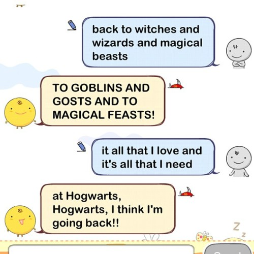 The power of fandom! #starkid #simsimi #avps #avpm (Taken with instagram)
