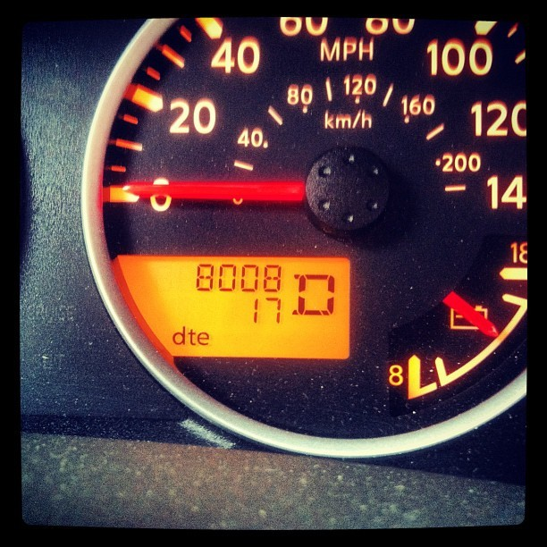 "My car said ""boob"" (Taken with instagram)"