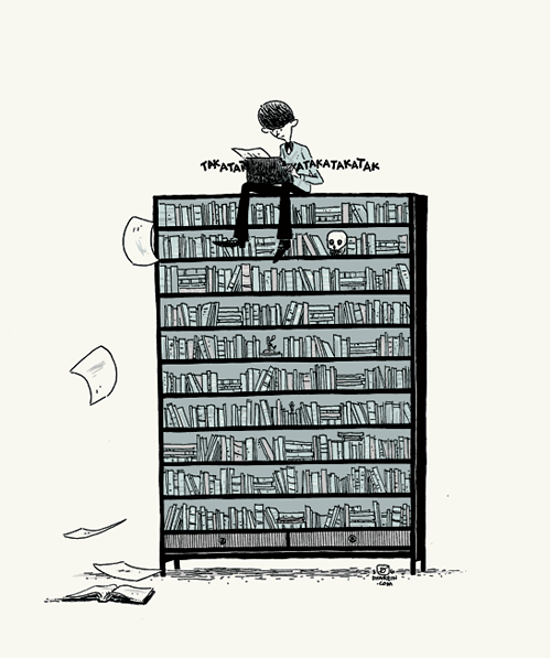 nevver:  Little Dreams, Big Bookcase