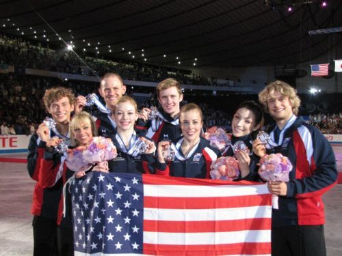 Congrats to Team USA for winning silver at the World Team Trophy 2012. :D