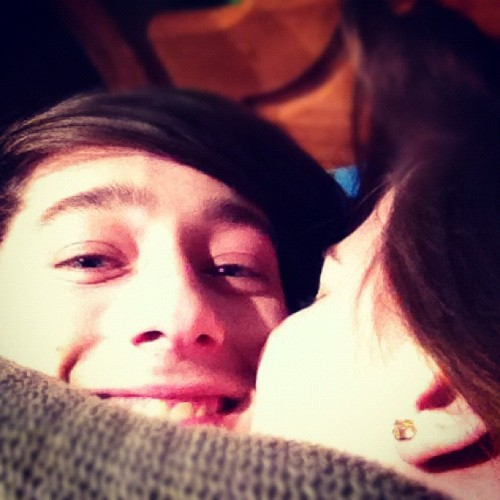 Dat gurl luv ma cheek (Taken with instagram)