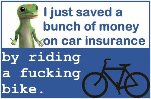 and riding it on roads paid for with my money, that is taken from me when i buy gas for my eeeeevil car.