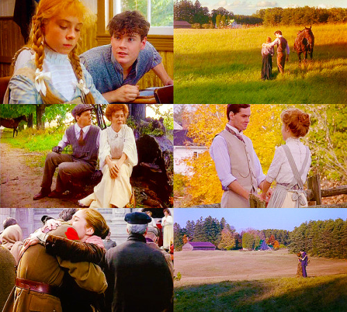 "avonleavignettes:  ""I shall never forgive Gilbert Blythe,"" said Anne firmly. ""The iron has entered into my soul, Diana."""