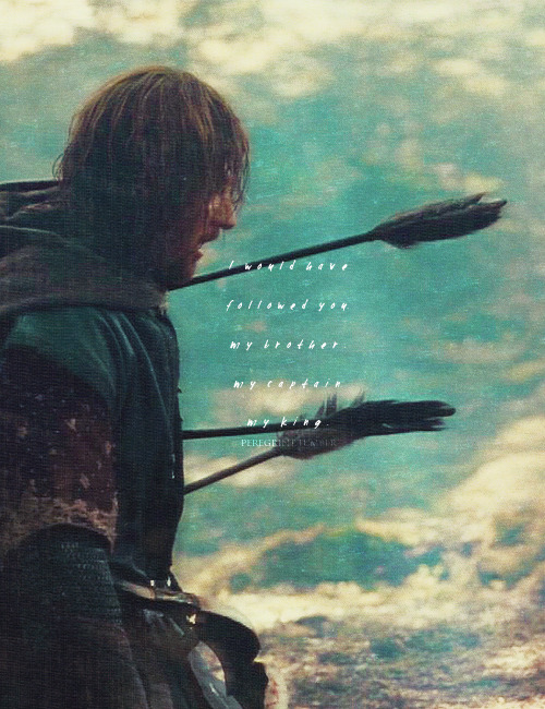 LOTR Meme: two deaths (1/2) ↬ Boromir
