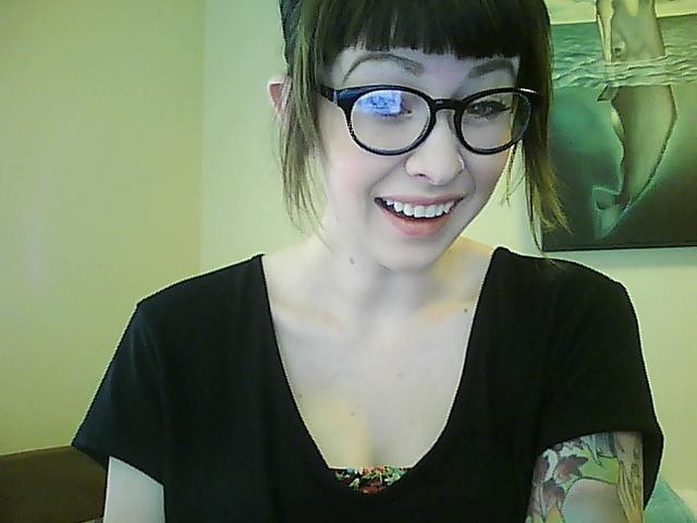 I got new glasses yesterday. Yayayayay! I also got another pair, but the glare is astounding, so it's not even worth it to post what they look like. Anyhow, I feel pretty. It's 90 degrees outside. So after I do poorly in rehearsal I'm going to go swim and eat finger steaks because I have perfected my technique. I am so excited for summer and no homework and no rehearsal and no stress. I got a bunch of ugly ass clothes from the thrift store yesterday, much to my mom's dismay and I'm going to wear them now. Goodbye tumblr. I'll see you in five minutes when I inevitably check you again.