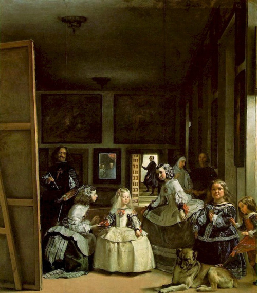"""Las Meninas"" by Diego Velazques, at the Museo del Prado, Madrid.Love-Spain"