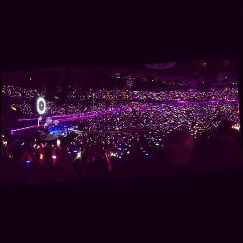 Coldplay concert 2012  (Taken with instagram)