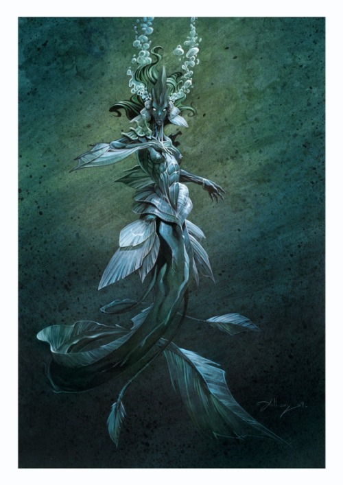 Sirene - Photo de illustrations et peintures - psykoblog
