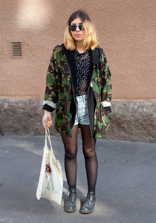 (via Malin - Hel Looks - Street Style from Helsinki)