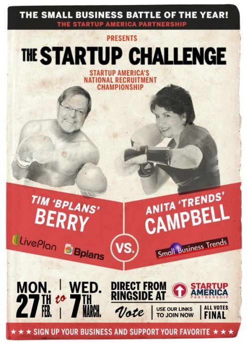 From our Startup America challenge with Palo Alto Software and Tim Berry.  It was fun!