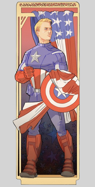 These are quite fun to draw and colour. Art deco inspired Avengers portraits. I've nearly finished Thor and Hulk, just have to get Iron Man sketched out and I'll have a nice set.