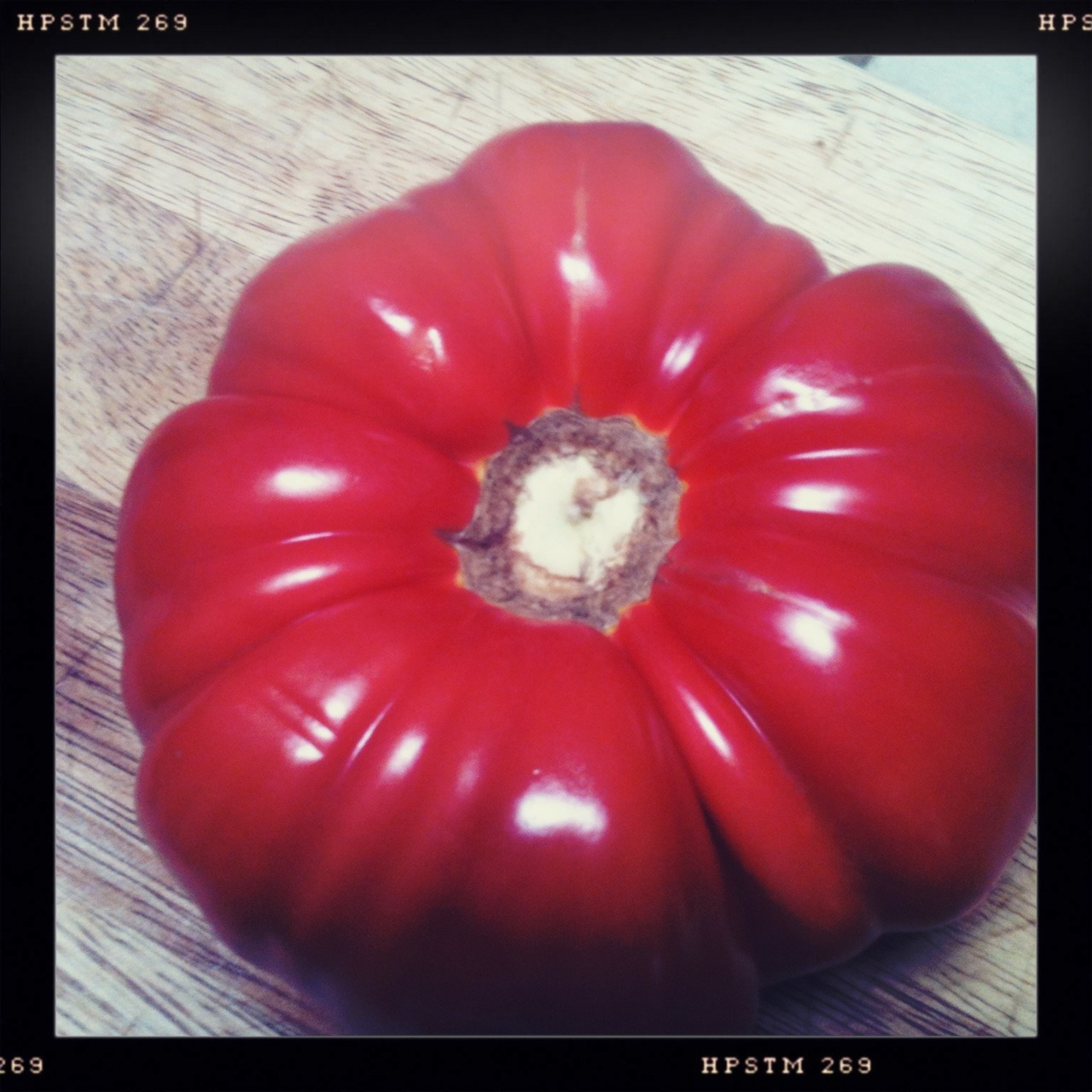 Pretty tomato  Helga Viking Lens, Pistil Film, No Flash, Taken with Hipstamatic
