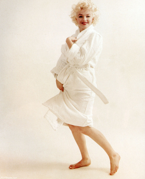 Photographed by Milton Greene, 1955