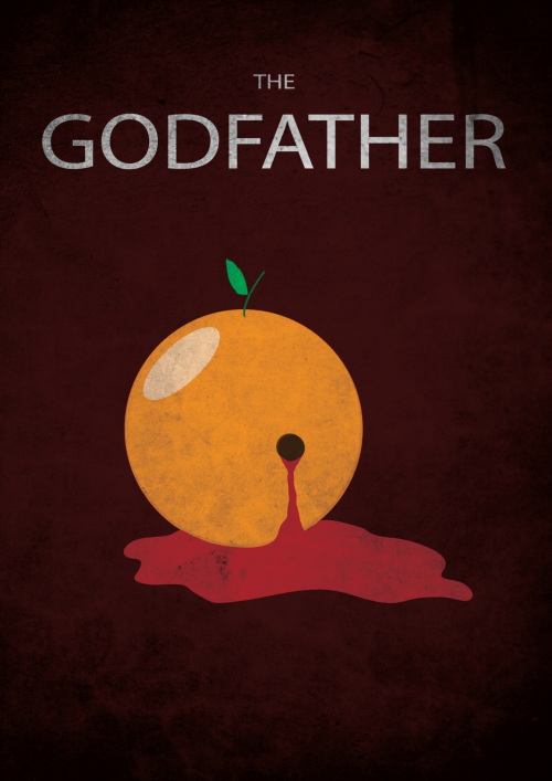 minimalmovieposters:  The Godfather by Kenzo Giunto