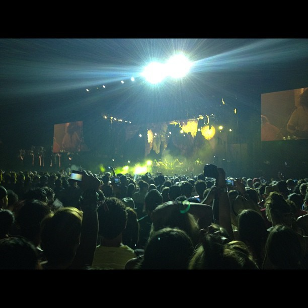 Bon Iver #coachella #boniver (Taken with instagram)