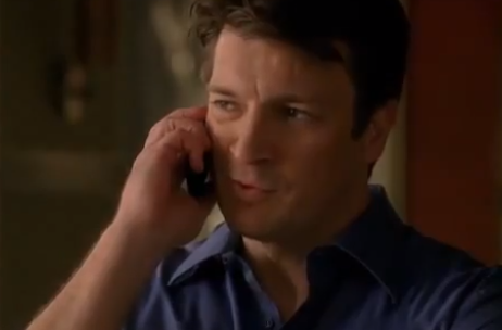 "Castle Thoughts Re: Phone Calls It is so crucial that Castle waits around for that phone call from Beckett — that she's the one to initiate their daily reunions. You know when you're into someone and you end up pretty much involuntarily holding your breath until you get a phone call or a text or any signal from them? Castle gets this almost every morning from Beckett, and it really shows that she has the upper hand in the relationship. He's literally waiting on her beck and call. BUT — HOW EXCITING must it be for Beckett to be able to make that simple phone call to Castle each day? We know how giddy Castle gets when his phone rings, but we rarely, if ever, get to see Beckett's side of the conversation. Beckett finding out there's a new case; Beckett excitedly reaching for her phone to call Castle — not just because there's work to be done, but because she loves him. Because she can't wait to speak to him again, if only to say, ""Dead body."""