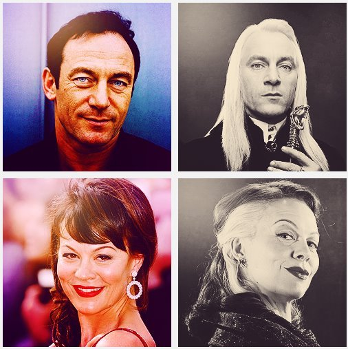 dude-chill-out:  Draco Malfoy's Parents.