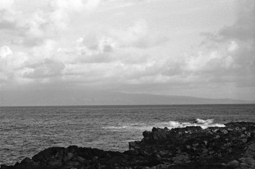 Maui, Looking toward Lana'i on Flickr.Via Flickr: March 2012 Ilford Delta 100 Nikon FM2