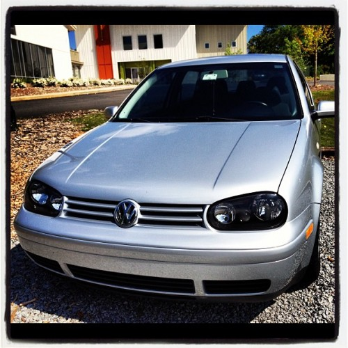 My faithful steed #mkIV #VW #GTI (Taken with instagram)
