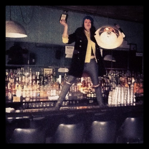 Come to my bar, bitches! K&M/225 N8. First drink on me! (Taken with instagram)