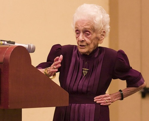"Nobel Laureate Rita Montalcini Turns 103 Has Dr. Rita Levi Montalcini unlocked the secret of eternal life? The oldest living and the longest-lived Nobel laureate in history, Montalcini celebrates today her 103th birthday. ""I can say my mental capacity is greater today than when I was 20, since it has been enriched by so many experiences,"" she says. keep reading"
