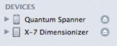 "I renamed my iPhone to Quantum Spanner and my iPad to X-7 Dimensionizer. It was that or HMS Spacetime XII ""…from the worst season ever."""