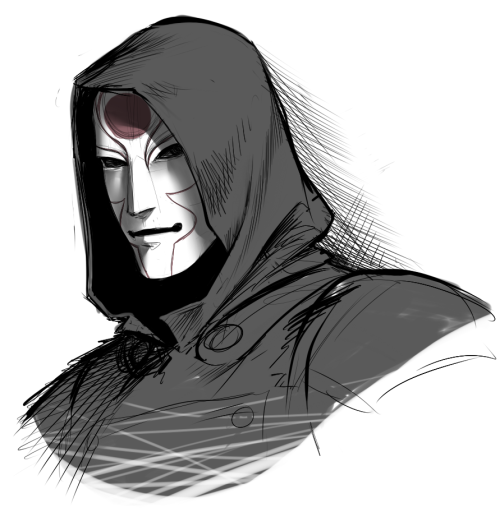 pirate-cashoo:  quick doodle of Amon. Of course Steven Blum voices him. OF COURSE. So much fanart I want to make for this series. gaddaaaaamn  Steve Blum's voice, also known as ONE OF THE MOST ATTRACTIVE VOICES IN EXISTENCE