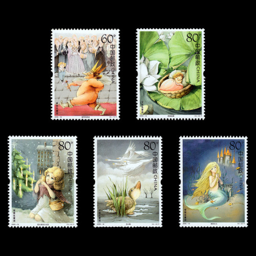 pastelclover:  Hans Christian Andersen stamps by Tom BKK on Flickr.