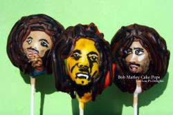 BOB MARLEY CAKE POPS !?! These are the best LouLou! Are you bringing some to the theater?? ;)MARLEY MOVIE OUT NOW!