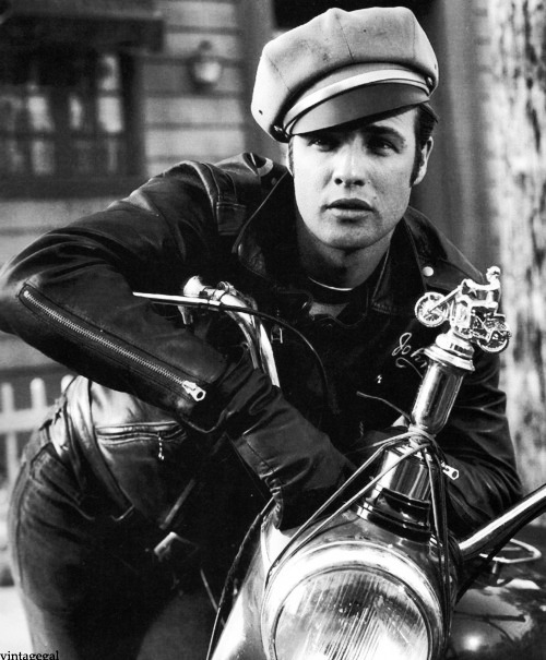 Marlon Brando in The Wild One (1953)
