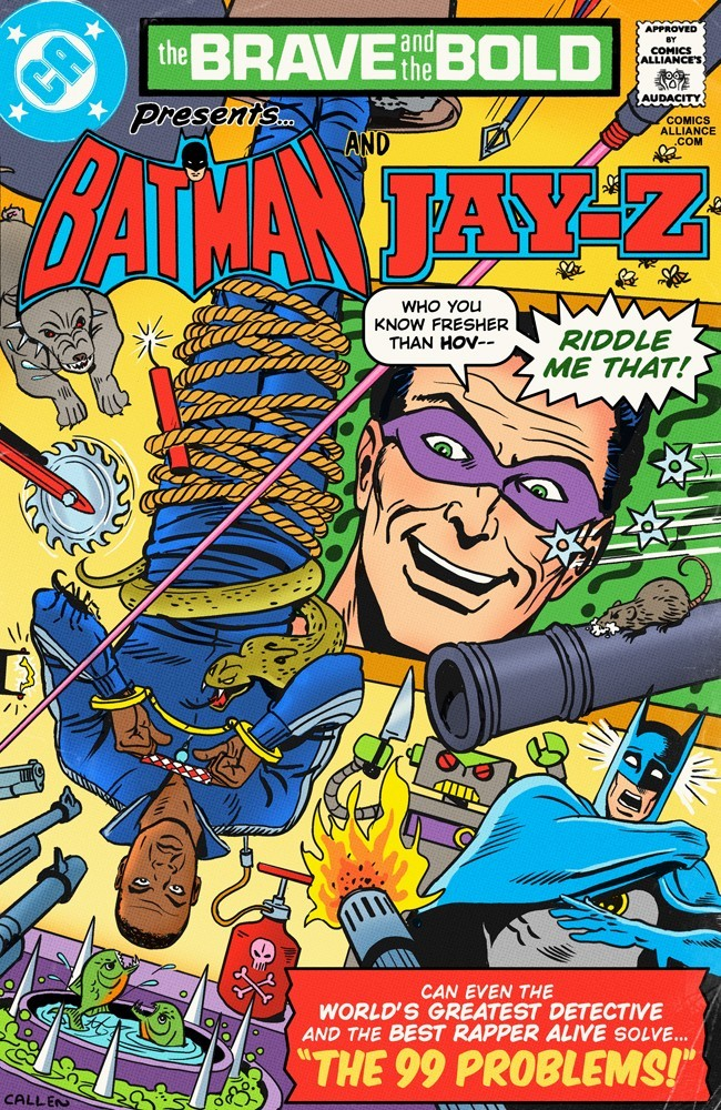 upnorthtrips:  Great Comics that Never Happened: Batman & Jay-Z Solve 99 Problems |PRVSLY| THE HIP HOP/COMIC BOOK CONNECTION