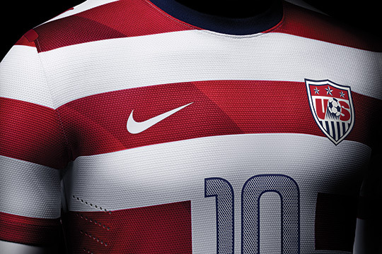 Nike US Men's and Women's National Home Kit - 2012 More