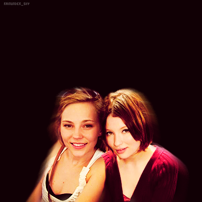 emily browning and debra romer, request by http://emilybrowningcraze.tumblr.com/