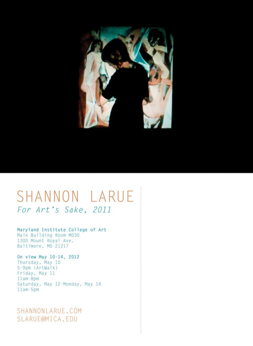 shanlarue:  Finally ordered the postcards for my showwwww!!!  Shannon!