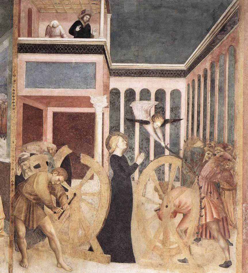 tuonodigenesi:  Masolino Da Panicale. The Martyrdom of St Catherine, 1428-1430.
