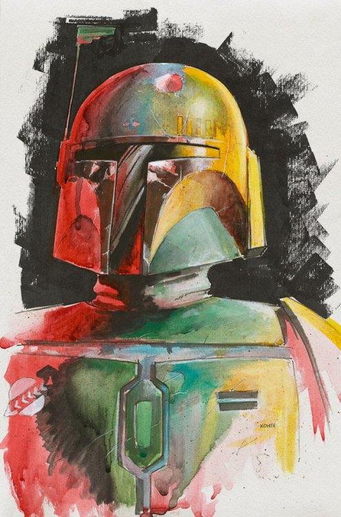 Boba Fett by Lee Kohse / Website