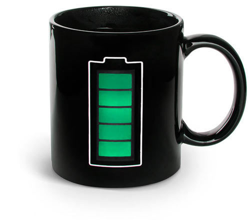 Battery Thermostat Mug