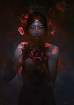 2headedsnake:  xaxor.com Embers by Jeff Simpson