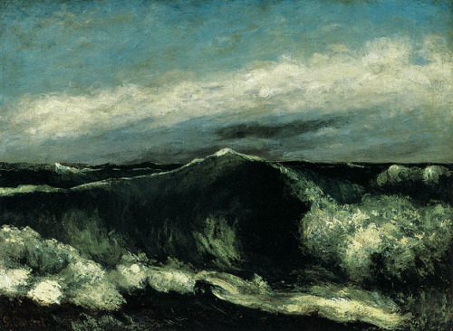 Gustave Courbet, The Wave, 1869