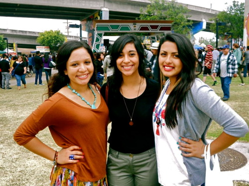 Chicano Park Day with two lovely ladies