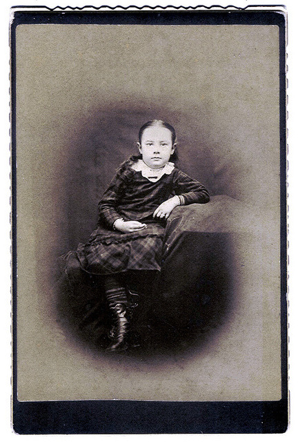 Unidentified Victorian Girl by clotho98 on Flickr.