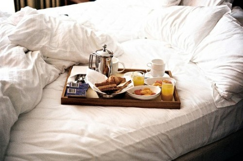 i would like some breakfast in bed
