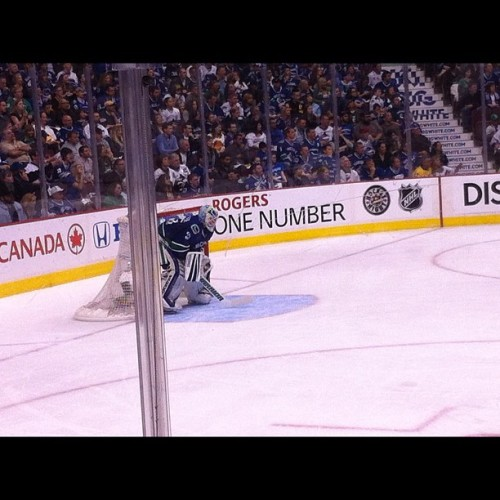 Schneider #canucks  (Taken with instagram)